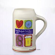 2008 Munich Oktoberfest Stein - 1 Liter - Stocked in the USA by Beer Gear - NIB