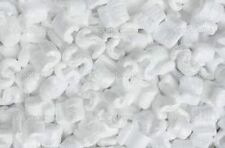 8.0 gallons Anit Static WHITE POPCORN PACKING PEANUTS NEW CLEAN FREE FAST SHIP