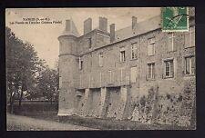 NANGIS seine et marne les fossés de l'ancien chateau féodal - CPA 77