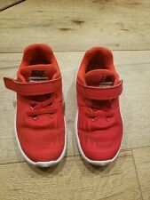 Toddler Boy's Size 9C Red Nike Shoes Star Runner