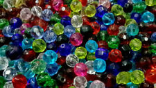 Assortment Faceted Round Jewellery Making Beads
