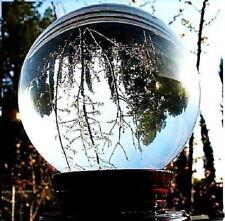 120mm Asian Rare Quartz Clear Magic Crystal Healing Ball Sphere
