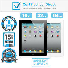 Apple iPad 2 16GB 32GB 64GB Refurbished Satisfaction Guaranteed