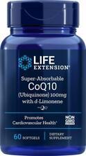 Life Extension Super-Absorbable CoQ10, 100 mg, 60 Softgels