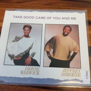 DIONNE WARWICK / JEFFREY OSBORNE : Take Good Care Of You And Me    > EX (MCD)