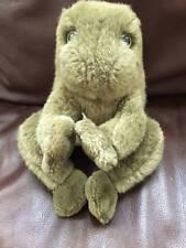 "Gund Frog 9"" Plush Animal 1985 Croaker Good Condition Gund Tag"