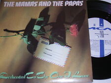 """7"""" - Mamas & Papas Dedicated to the one i love & Dream a little - UK 1991 # 4544"""