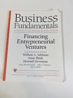 Business Fundamentals As Taught At the Harvard Business School Entrepreneur