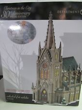 Dept.56 Christmas In The City Cathedral Of St. Nicholas Special Edition 59248Se