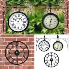 Horloges murales vintage/rétro ronds pour le patio