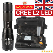 8000lm Genuine Shadowhawk X800 Tactical Flashlight L2 LED Military Torch Kit