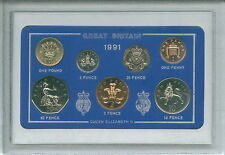 1991 Vintage Moneda establece 26th cumpleaños regalo de boda aniversario de nacimiento año actual