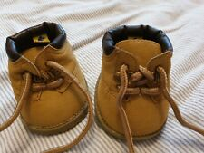 BUILD A BEAR TIMBERLAND STYLE BEIGE BOOTS