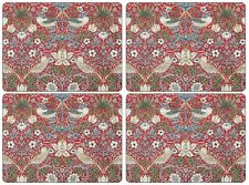 Pimpernel William Morris Strawberry Thief Red Placemats - Set of 4