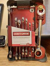 CRAFTSMAN 8 Pc. DUAL RATCHETING WRENCH SET (SAE)