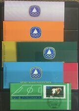 Germany & Berlin 1980-1988 Sports Booklets