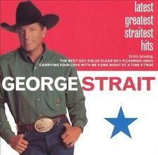 GEORGE STRAIT Latest Greatest Straitest Hits CD BRAND NEW Best Of