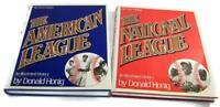 1987 AMERICAN / NATIONAL LEAGUE Illustrated History Books Honig Baseball -SH2