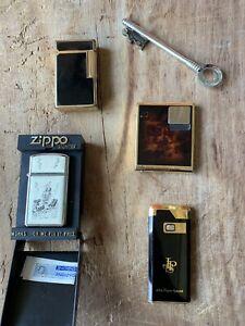 accendini vintage ZIPPO, DUPONT ed ALTRI