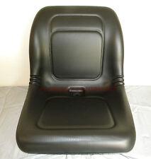 KUBOTA Compact Tractor Skid Steer Loader UTV Lawn Garden Mower Seat - Black