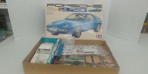 Vintage 1:20 Tamiya Porsche 928 Model 100% Complete Boxed Unassembled Shelf UP1