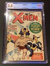 X-MEN #3 (1963) 1st BLOB CGC GRADED 3.5 KEY GRAIL