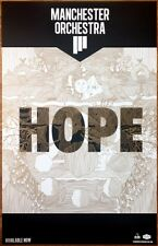 MANCHESTER ORCHESTRA Hope Ltd Ed Discontinued RARE Poster+FREE Indie Rock Poster