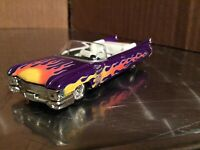 1959 Cadillac convertible Hot wheels Hard Rock Cafe car 1/64 Damage to paint