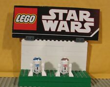 "STAR WARS LEGO LOT  MINIFIGURE--MINI FIG--"" LOT OF 2  R2-D2 & R5-D4  """