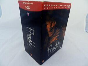 Coffret intégrale films Freddy 7 dvd Métropolitan version remastérisée 5.1