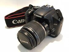 Canon EOS 450D 12.2MP Digital SLR Camera, Black with EF-S 18-55mm Lens
