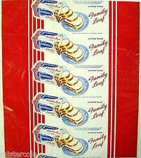 Vintage bread wrapper BALDRIDGES SALLY ANN Lubbock Texas unused new old stock