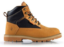 Scruffs Twister Safety Boot Tan SBP SRC HRO Rated Sizes 7-12 Mens Steel Toe Cap