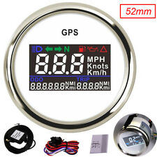 52mm GPS Speedometer Gauge 0~999 MPH Knots Km/h for Car Truck Boat Motorcycle