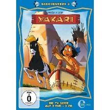 YAKARI - GESCHENKBOX (3) 2 DVD+2 CD NEU