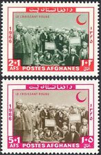 Afghanistan 1966 Red Crescent/Cross/Medical/Health/Welfare 2v set (n27619)
