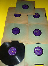 """Ray Anthony 7X10"""" 78 rpm Lot I'LL SEE YOU IN MY DREAMS, LITTLE PEACH FROM EAST"""