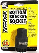 Pedro's Splined Bike Bottom Bracket Socket Tool For Shimano & ISIS 20-Tooth Cups