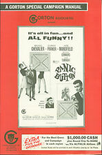 Panic Button (1964)  Eleanor Parker, Jayne Mansfield Maurice Chevalier pressbook