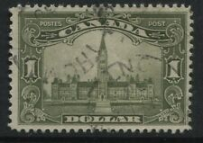 Canada 1929 $1 Parliament CDS used