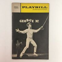 1968 Playbill Joel Grey in George M! by Joe Layton at The Palace Theatre