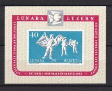 Echte Schweizer postfrische Briefmarken und Post- & Kommunikations-Motiv