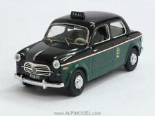 Fiat 1100 Taxi di Milano 1956 with figurine 1:43 RIO 4408P
