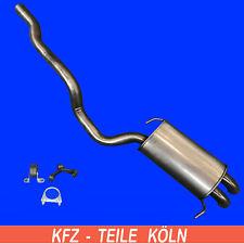 EDELSTAHL VW Transporter T5 2.0 2.5 TDi BiTDi 4motion Syncro  Allrad Auspuff