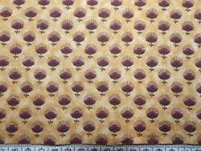 Floral on Brown Fat Quarter 22