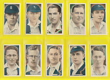SPORTS  -  ARDATH - SCARCE SET OF 50 CRICKET TENNIS & GOLF CELEBS. CARDS - 1935