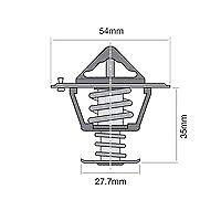 TRIDON Std Thermostat For SAAB 9000  02/95-12/96 2.3L B234L