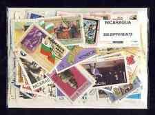 Nicaragua 200 timbres différents
