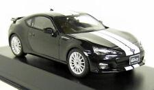Kyosho 1/43 Scale - Subaru BRZ Black / White Stripes Diecast model car