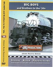 BIG BOYS AND BROTHERS IN THE 50'S UNION PACIFIC SUNDAY RIVER PROD NEW DVD VIDEO